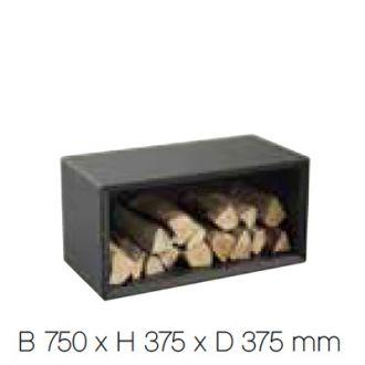 Houtvak M zwart 300 serie