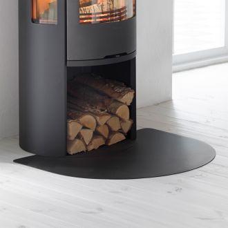 Vloerplaat kort C 500 Style/C 630/630T/635 zwart/grijs