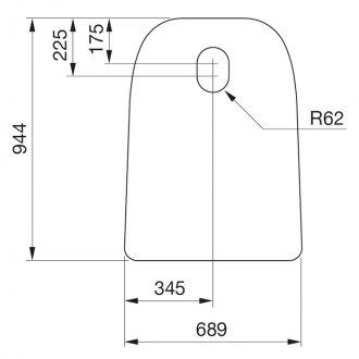 Vloerplaat wegneembaar C 30 serie glas | Contura.nl