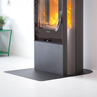 Vloerplaat wegneembaar C 30 serie zwart/grijs
