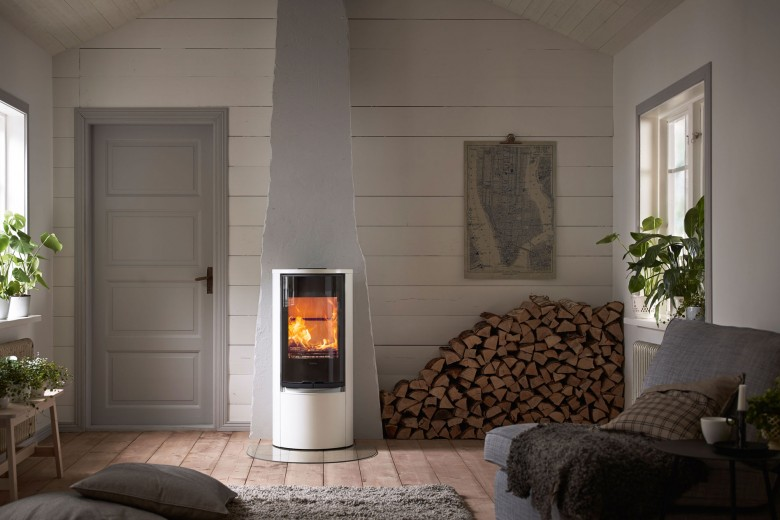 Contura 510 Glass Style wit